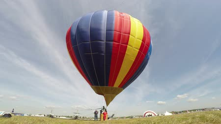 balonlar : Hot air balloon Stok Video