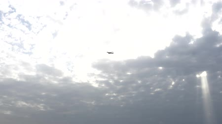 sun beam : two planes on cross courses