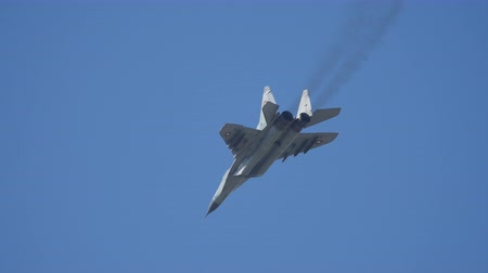 urss : Mikoyan Gurevich MiG 29 Fulcrum does the Famous Pugachevs Cobra High Alpha Angle of Attack Manouver at Sofia Air Show. Bulgaria 11 Oct. 2014