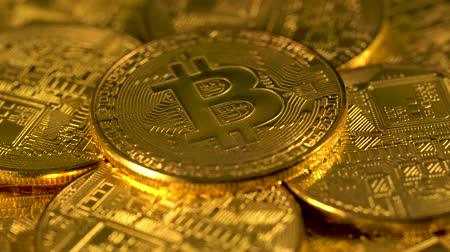 Pile bitcoins btc bit coin. Rotation bitcoin. Mining Cryptocurrency. Economy. Cyberspace. Background.