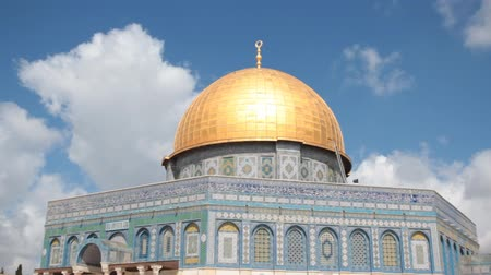 jerozolima : Dome of the Rock Time-Lapse