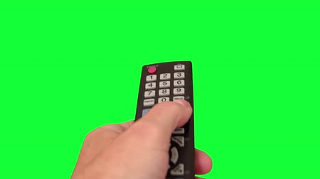 Surfing Television Channels on Green Screen