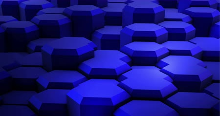 integrált : Abstract Blue Hexagon Geometric Surface