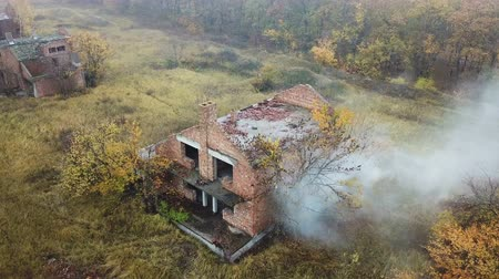 inacabado : Abandoned village. Aerial survey