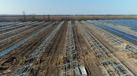 eksport : Construction of a solar power station
