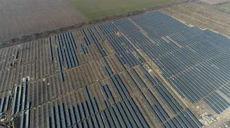 fotovoltaica : Construction of a solar power station