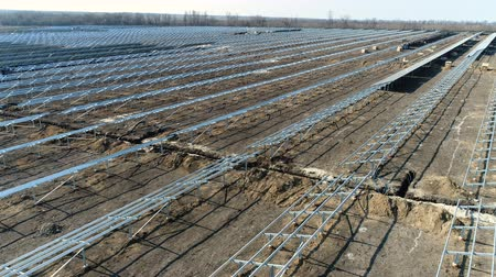 coletor : Construction of a solar power station