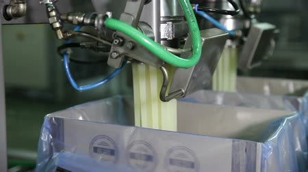 vaj : Spill in The Production Butter on The Assembly Line