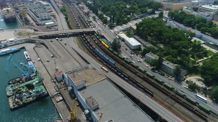 фарватер : Odessa Marine Trade Port. Aerial survey