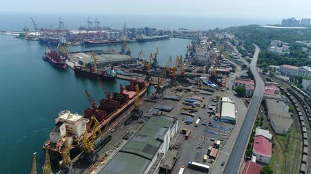 フェアウェイ : Odessa Marine Trade Port. Aerial survey