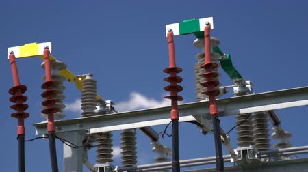 conversie : High voltage transformer equipment in a solar power station
