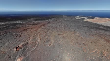 засушливый : 360 degrees seamless loopable aerial panorama of volcanic valley in Timanfaya National Park and Montana Blanca, Lanzarote, Canary islands, Spain
