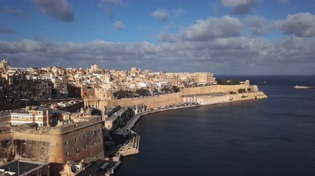 upper peninsula : Flight around of Valletta old town and Upper Barrakka Gardens, Malta