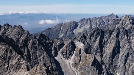 Aerial view of High Tatras mountains, Slovakia