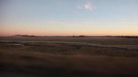 prairie fields and agriculture Stok Video