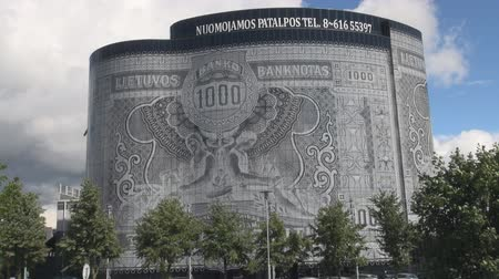 Banknote Building of Kaunas, Lithuania