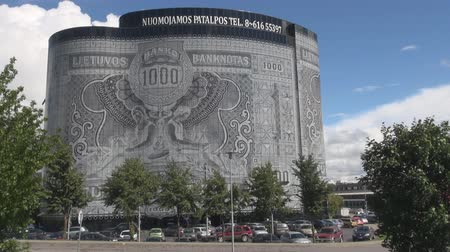 Marvelous construction bank note building