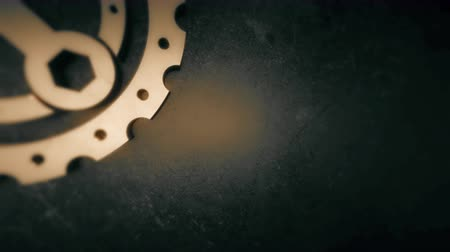 csavarkulcs : Gear, cogwheel and wrench glow animation in PNG format with ALPHA transparency channel