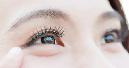 kaşları : close up of woman eyes for your concept