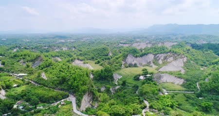 unmanned aircraft : aerial of beauty erliao scenery in the tainan