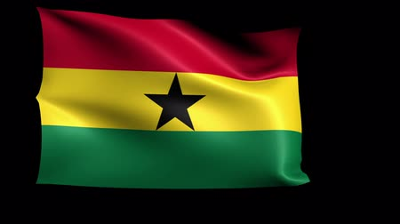 formato : Ghana Flag Loop (Alpha Channel)