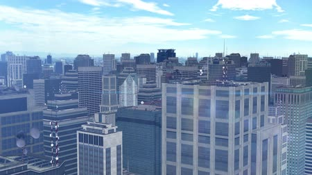 CG image of city building