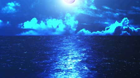 Sea of Night from Sea Level CG Background