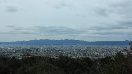 kyoto : Kyoto Shogunzuka  Timelapse Full View of the Townscape