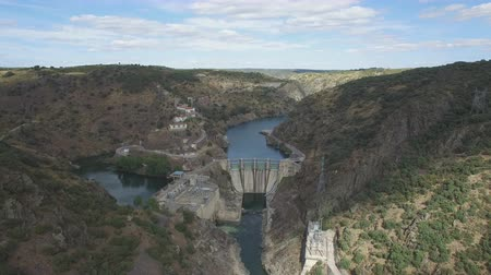 baraj : Dam in arribes del Duero canyon