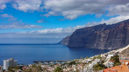 Time lapse of Los Gigantes cliffs in Tenerife