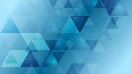 geometric : Bright blue geometric tech background. Video animation HD 1920x1080