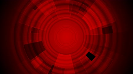brochura : Dark red tech gear abstract background. Video animation HD 1920x1080
