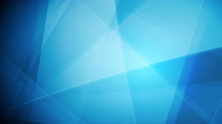 fundo azul : Bright blue tech shapes background. Video animation HD 1920x1080 Stock Footage