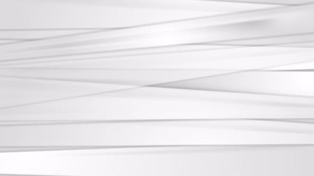 křivky : Light grey abstract striped background. Video animation HD 1920x1080