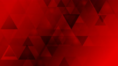 geométrico : Dark red geometric tech background with triangles. Video animation HD 1920x1080