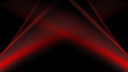 red background : Abstract dark animated background. Red flowing wavy stripes on black
