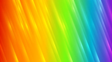 arco íris : Colorful rainbow abstract striped video animation Stock Footage