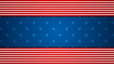 veteran's day : USA flag colors motion graphic design. Video animation HD 1920x1080