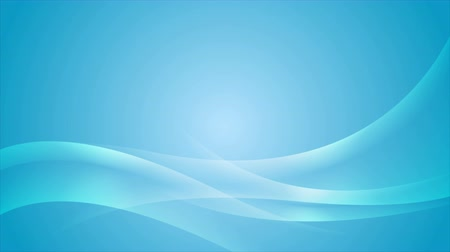 düzgün : Abstract blue wavy motion design background. Video animation