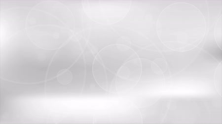 质地 : Abstract grey clean shiny circles motion background. Video animation Ultra HD 4K 3840x2160