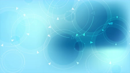 umzug : Abstract blue tech Kreise Motion Design. Video Animation Ultra HD 4K 3840x2160