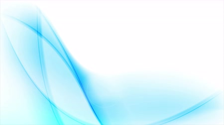fundo branco : Blue abstract moving flowing waves on white background. Blurred smooth design. Video animation Ultra HD 4K 3840x2160
