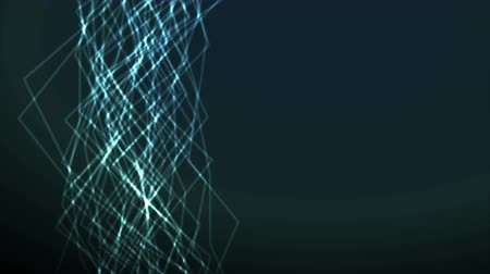zvlněné : Glowing neon lines abstract motion design. Video animation Ultra HD 4K 3840x2160