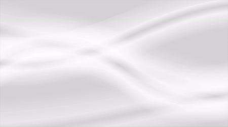 eleganckie : Abstract grey white moving waves motion design. Video animation Ultra HD 4K 3840x2160 Wideo