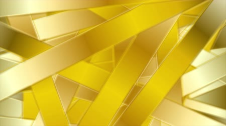 listras : Golden abstract stripes luxury motion design. Video animation Ultra HD 4K 3840x2160