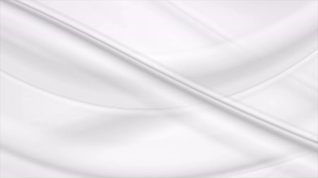 zvlněné : Flowing abstract milk white waves graphic motion design. Video animation grey clip Ultra HD 4K 3840x2160