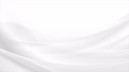 gray background : Flowing abstract gray and white blurred waves. Video animation Ultra HD 4K 3840x2160