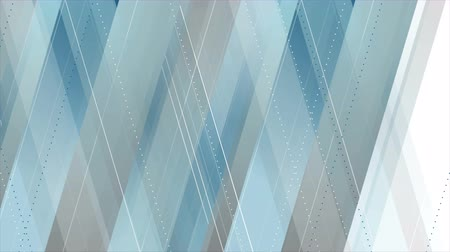 geometric : Blue and gray abstract tech geometric minimal motion design. Seamless loop. Video animation Ultra HD 4K 3