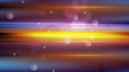 orange background : Colorful glowing stripes and bokeh light backgrounds. Seamless loop. Video animation Ultra HD 4K 3840x2160