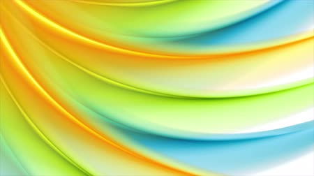 colore : Colorful abstract wavy pattern motion background. Seamless looping. Video animation Ultra HD 4K 3840x2160